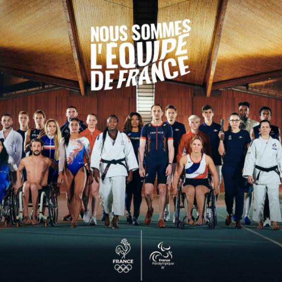 Nous sommes l'Equipe de France